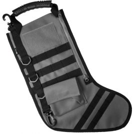 Tactical Christmas Stocking Gray